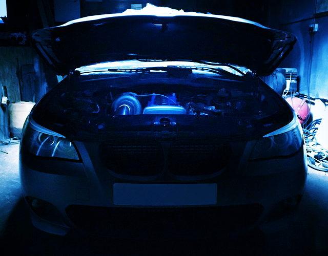 2JZ ENGINE INSTALL OF E60 BMW