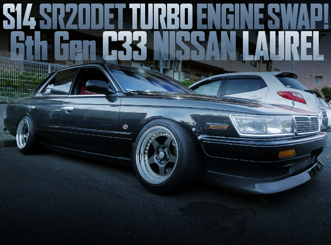 S14 SR20DET SWAP EC33 LAUREL BLACK