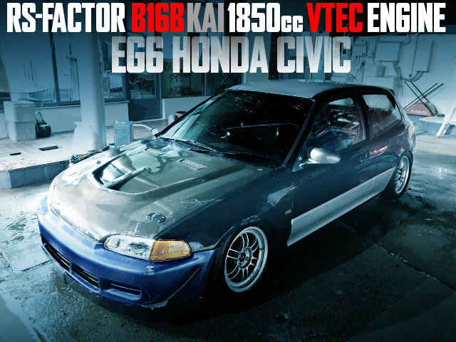 RS FACTOR B16B SWAP EG6 CIVIC
