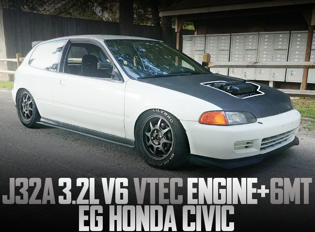J32A V6 VTEC SWAP EG CIVIC HATCH