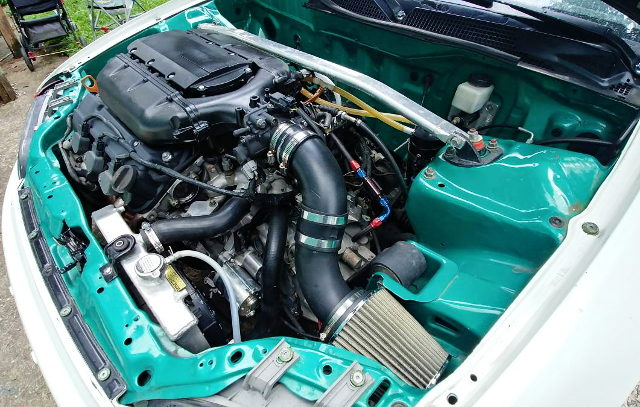 AIR INTAKE FROM J32A V6 ENGINE
