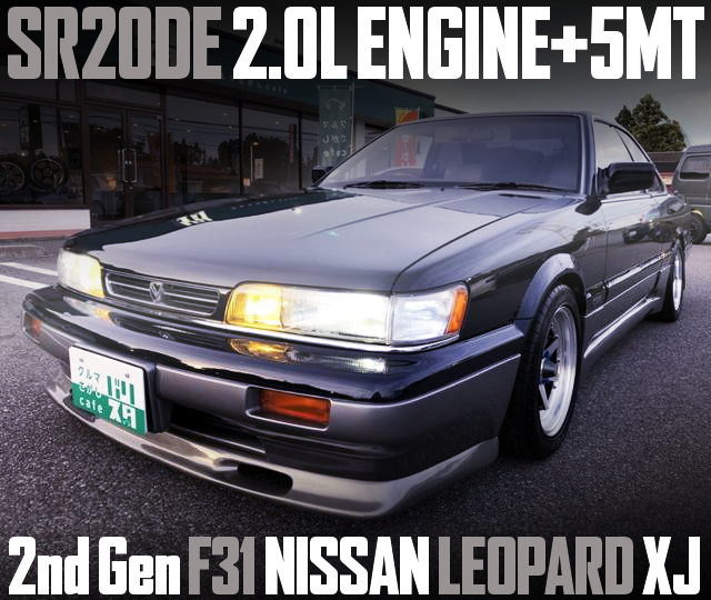 SR20DE ENGINE 5MT F31 LEOPARD XJ
