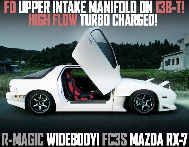 RMAGIC WIDEBODY FC3S RX7 WHITE