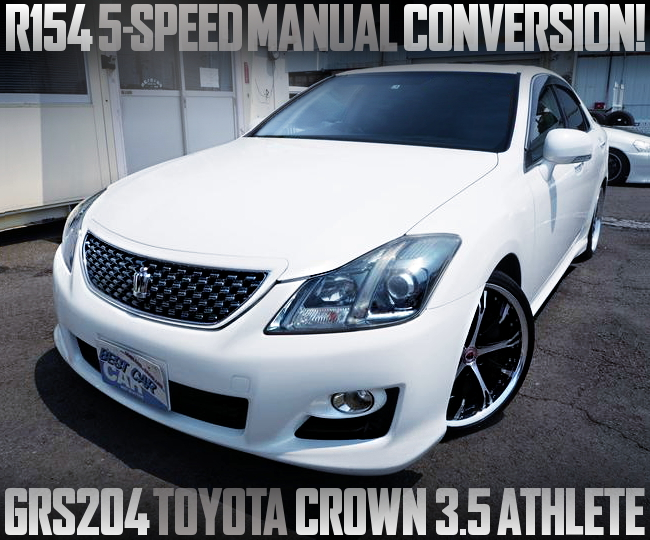 5MT CONVERSION GRS204 CROWN ATHLETE