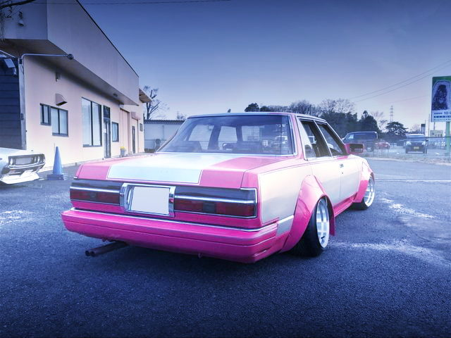 REAR WORKS WIDE GX71 CRESTA