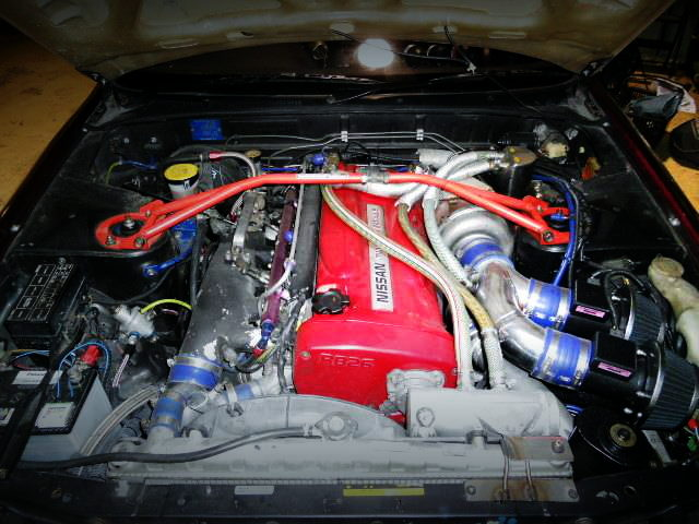 RB26 ENGINE SINGLE TURBO