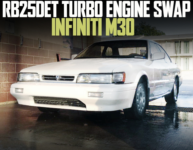 RB25DET ENGINE SWAP INFINITI M30