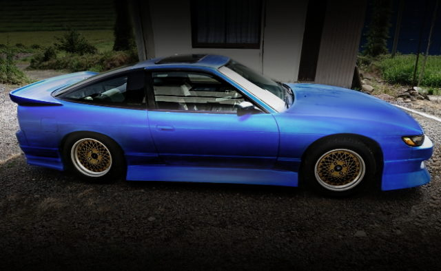 SIDE EXTERIOR SILEIGHTY BLUE