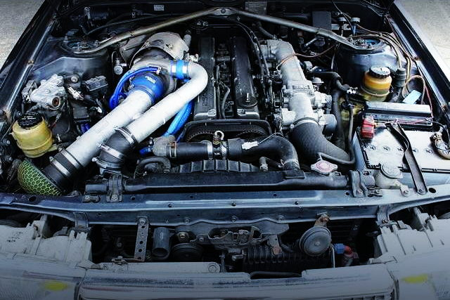 1JZ-GTE WITH HKS TURBOCHARGER