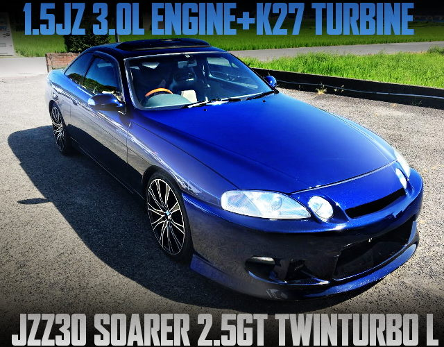 2J BLOCK 1J HEAD K27 TURBO JZZ30 SOARER