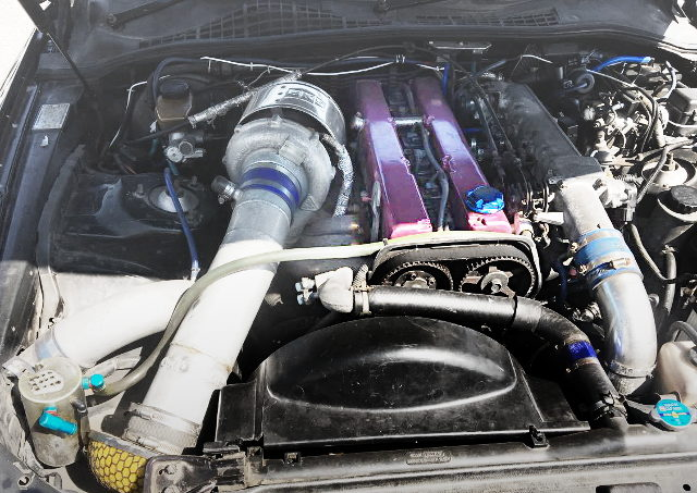 15JZ ENGINE WITH K27 SINGLE TURBO