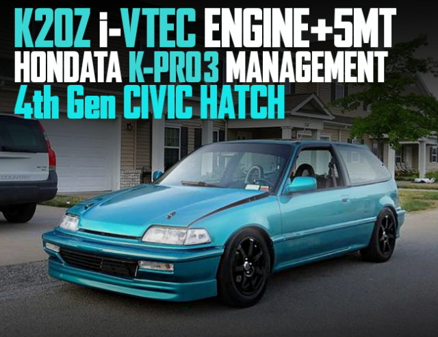 K20Z iVTEC ENGINE 4th GEN CIVIC HATCH