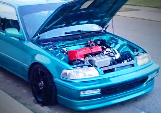 HOOD OPEN EF CIVIC