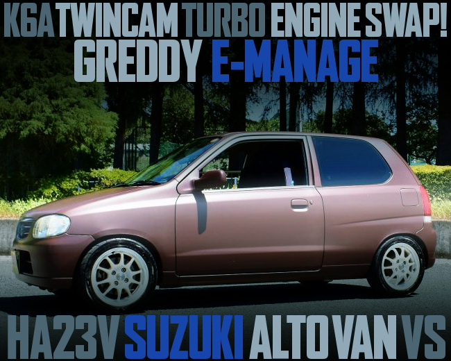 K6A TWINCAM TURBO SWAP HA23V ALTO Vs