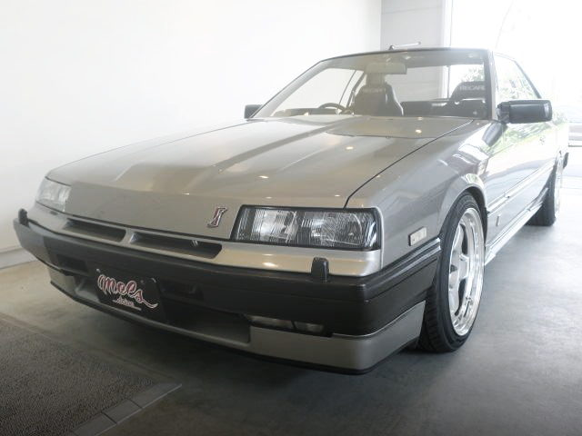 FRONT FACE KOUKI DR30 SKYLINE SILVER