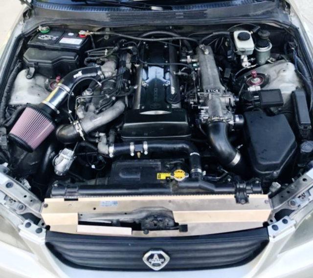2JZ TWINTURBO ENGINE