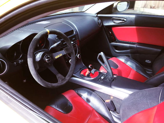 RX8 INTERIOR LEFT HAND DRIVE