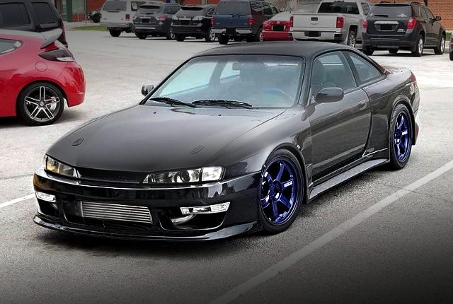 FRONT FACE VERTEX RIDGE WIDE S14 240SX KOUKI