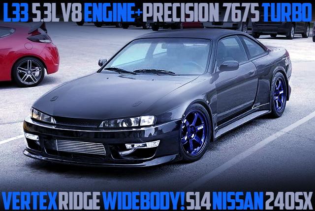 L33 V8 TURBO ENGINE S14 240SX WIDEBODY
