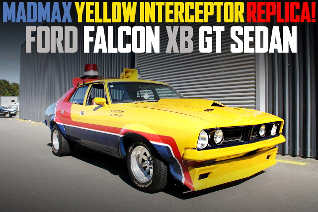 MADMAX YELLOW INTERCEPTOR REPLICA