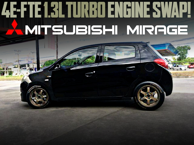 4EFTE 1300cc TURBO ENGINE 6th Gen MIRAGE