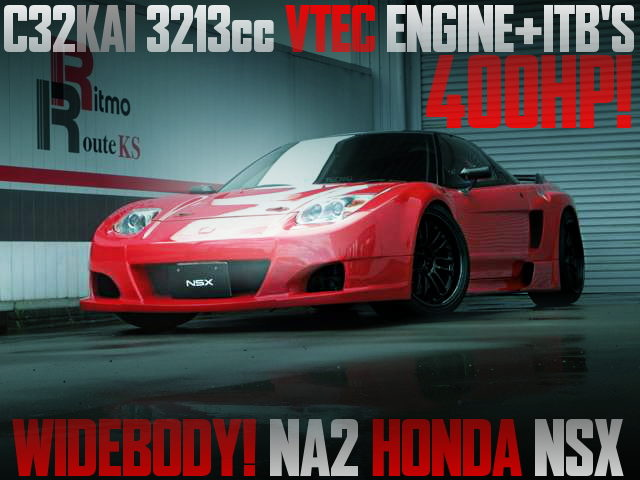 C32KAI 3213cc VTEC WITH ITB NA2 NSX WIDEBODY RED