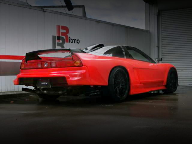 REAR EXTERIOR NA2 NSX RED