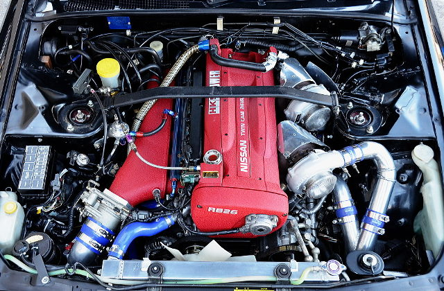 RB30DETT TWINTURBO ENGINE