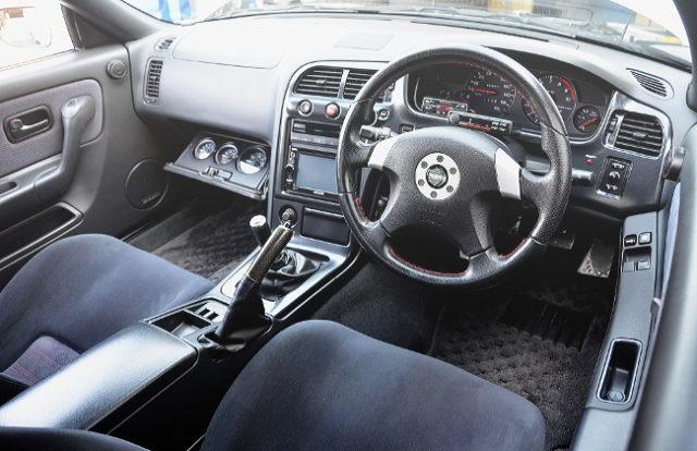 INTERIOR R33 SKYLINE GTR