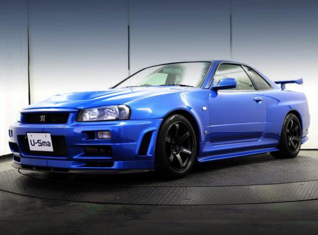 FRONT FACE R34 GT-R NUR