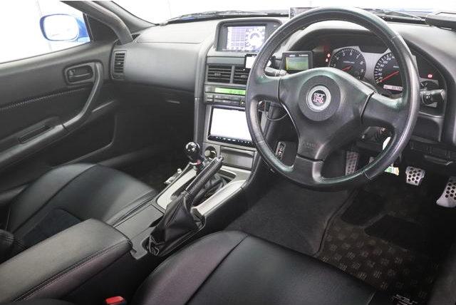R34 GTR NUR INTERIOR