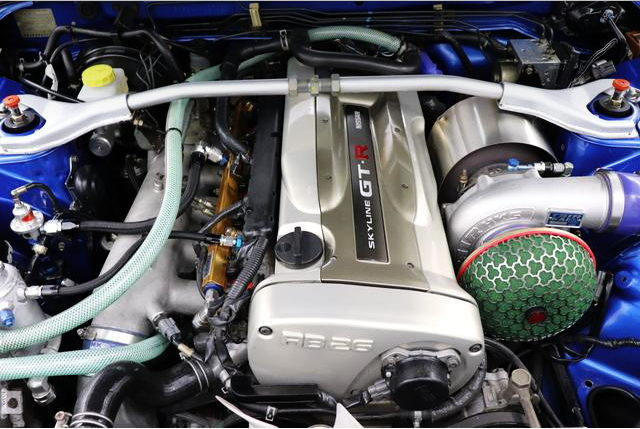 NUR RB26 ENGINE WITH SINGLE TURBO