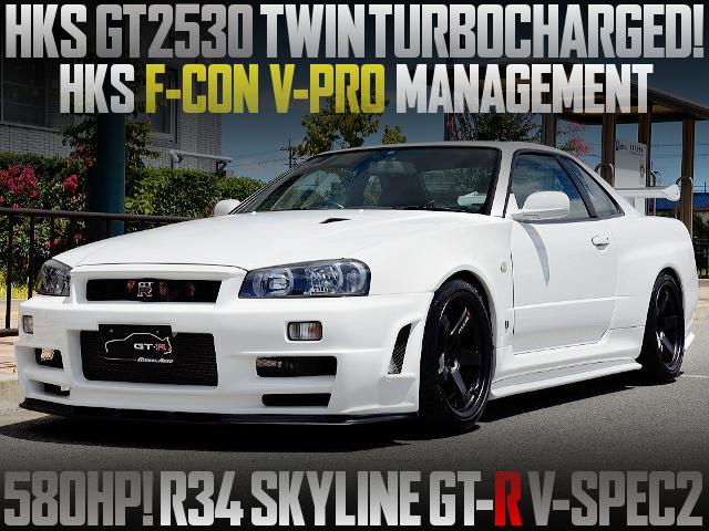 GT2530 TWINTURBO VPRO R34 GTR V-SPEC2