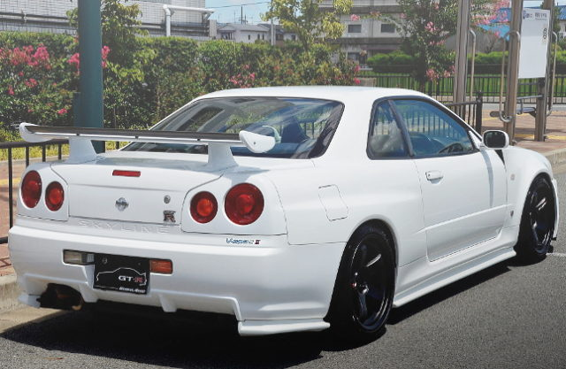 REAR EXTERIOR R34 GT-R V-SPEC2