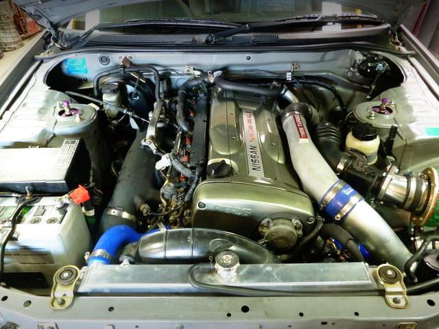 NUR COLORING RB26DETT ENGINE