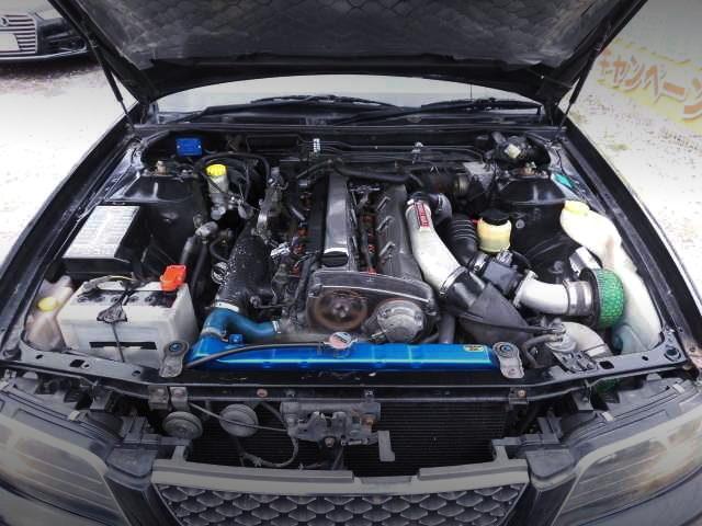 RB26 TWINTURBO ENGINE