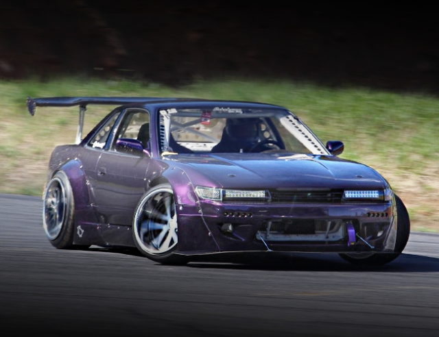 FRONT EXTERIOR S13 SIL VIA ROCKET BUNNY