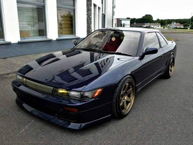 FRONT EXTERIOR S13 SILVIA NAVY BLUE