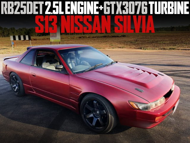 RB25DET ENGINE GTX30376 TURBO S13 SILVIA