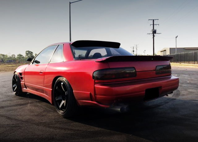 REAR EXTERIOR S13 SILVIA RED