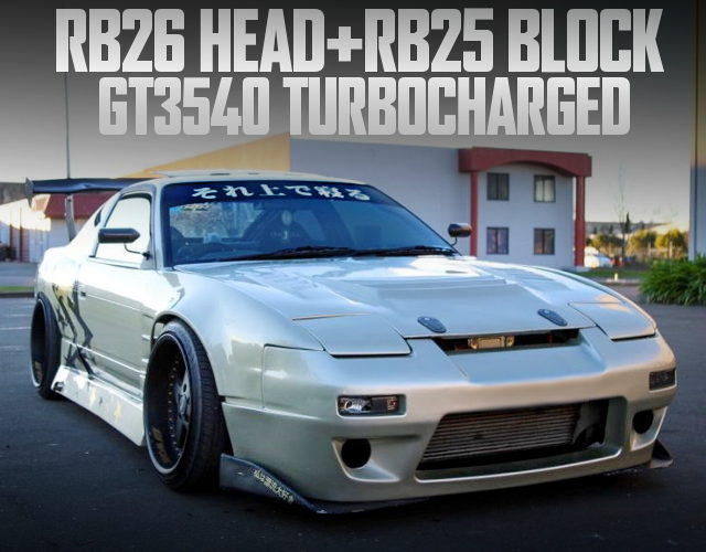 RB26 HEAD WITH RB25 BLOCK S13 200SX