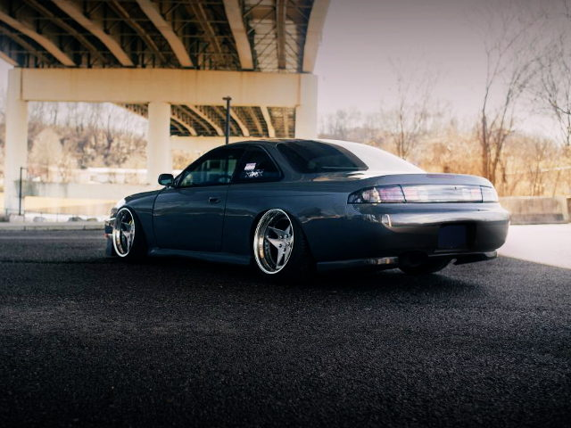 REAR EXTERIOR S14 240SX GRAY