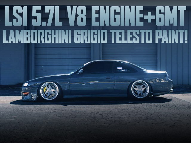 LS1 V8 6MT S14 240SX GRAY