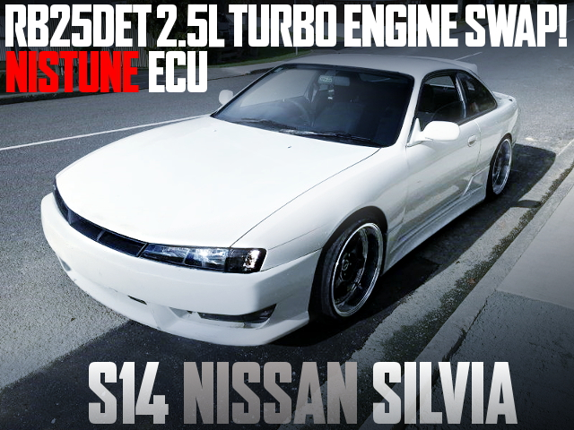 RB25DET TURBO ENGINE S14 KOUKI SILVIA