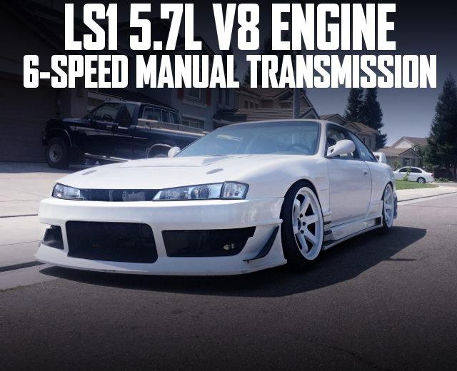 LS1 V8 ENGINE 6MT S14 KOUKI 240SX