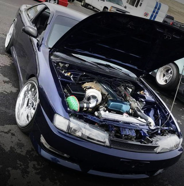 2JZ-GTE ENGINE WITH SINGLE TURBOCHARGED