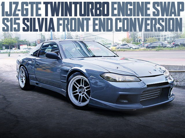 S15 FRONT END 1JZGTE S13 200SX GRAY