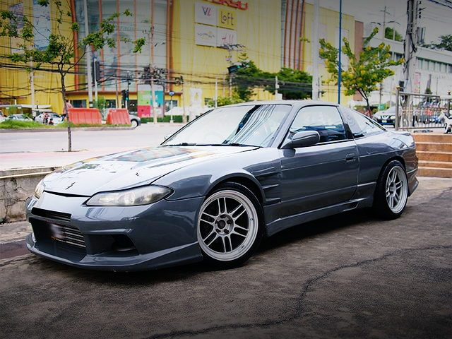 S15 FRONT END S13 200SX GRAY