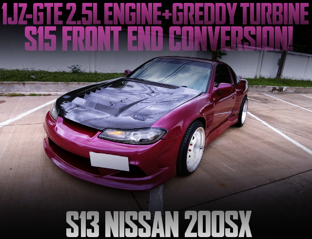 S15 FRONT END S13 NISSAN 200SX