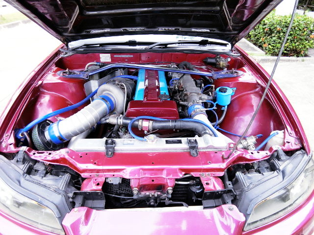 1JZ-GTE ENGINE WITH SINGLE TURBO